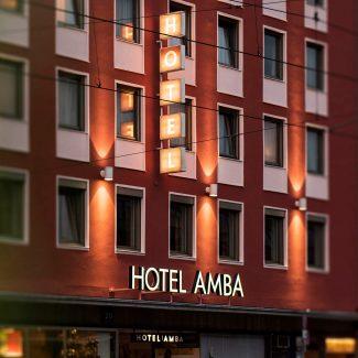 Hotel Amba Außenansicht